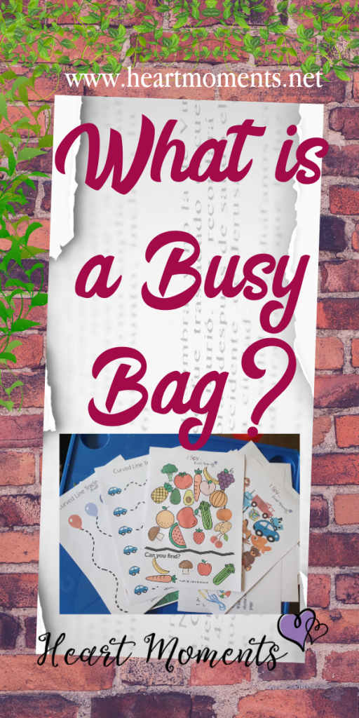 What is a Busy Bag?