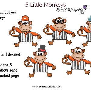 5 Little Monkeys (Download)